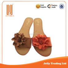 Good quality lady rubber slippers shoe
