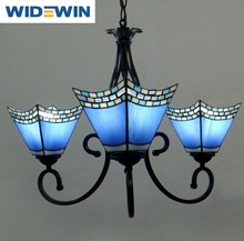 Tiffany contemporary chandelier restaurant droplight wrought iron Mediterranean style droplightWW-YLM029