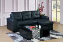 Hot sale contemporary corner sofa comfortable leather sofa L shape living room sofa
