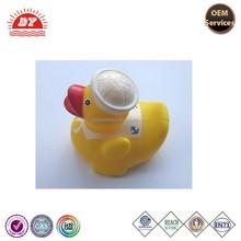 ICTI Wholesale Custom Baby Bath Toy Rubber Vinyl Ducks with Cap