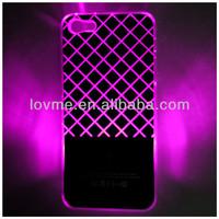 For iphone 5 Sense Flash Light Led Case Cover