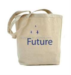 2015 Cheaper Recyclable Shopping Cotton Bag With Logo Printed
