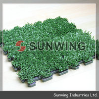 Sunwing 2014 interlocking grass mat grass tiles