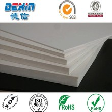 Light weight and inkjet printable PVC plastic sheet