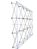 Aluminum Material pop up a frame nail polish Trade Show Display