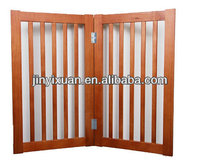 Indoor Folding Wooden folding pet gates / Pet Safty Gate