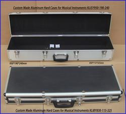 Custom Made Aluminum Hard Cases for Musical Instruments KL-MI001