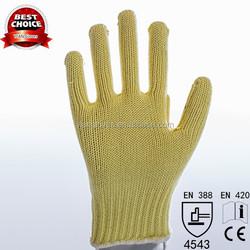 Sample Free Factory Kevlar Knitting Anti Fire Resistant Fire Retardant Gloves