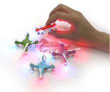 Toys and Children's Gift Cheerson CX-10 CX10 2.4G Remote Control Toys 4CH 6Axis Quadcopter Mini Rc Helicopters Radio Aircraft