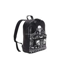 skull school bag young models