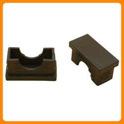 Wholesale cheap furniture fittings square tube inserts plastic pipe plug for chair SC06