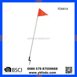 mini soccer team pennant flag,custom soccer flag(FD681A)