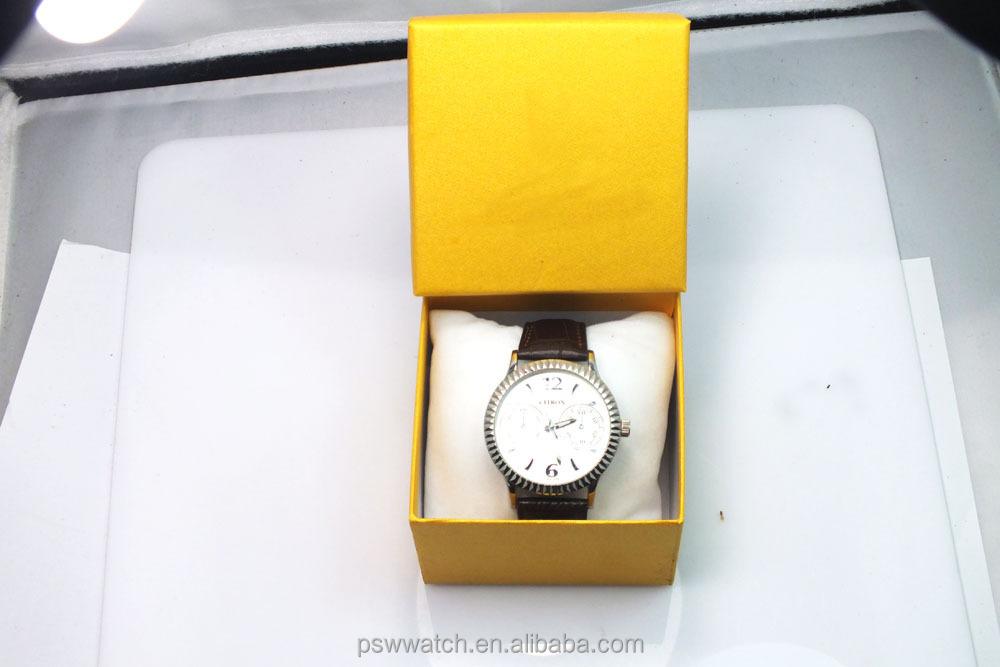 High-grade quartz watch lady day/date wrist watch cheap wrist watch