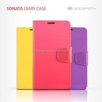 mercury goospery SONATA diary leather wallet case for Samsung Galaxy S3 i9300