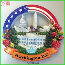 YC10171039 washington.d.c best selling printing customized flexible cities fridge magnet souvenir