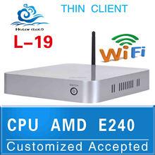 nuc computer Smart Mini PC Htpc Computer Case L19 E240 Support 3G and WiFi (LBOX-525) 4G RAM 16G SSD