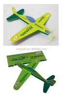 Fashion foam plane with paper sleeve packing , The cheapest foam plane