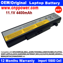 Compatible Laptop battery for Lenovo G580/G480/Y480/Z480/Z580/Z585/Z485/Y580P 11.1V 4400mAh 6 Cell