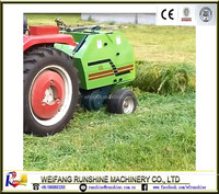 mini tractor 3 point hitched mini baler equipment