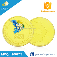 Professional Custom made metal antique fake gold coin