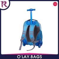Fashion kids trolley bag kids school trolley bag