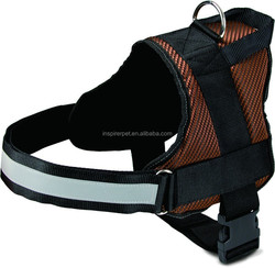 Pet Dog Harness With Regular 3 Sizes Reflective Band