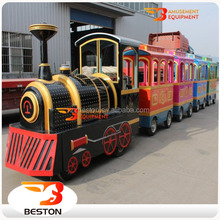 Many year export experience amusement electric tourist train