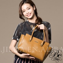 BELLUCY side studs fashion trend leather handbag