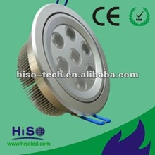 AC80-265V CREE CHIP IP44 Dimmable 7W LED downlight