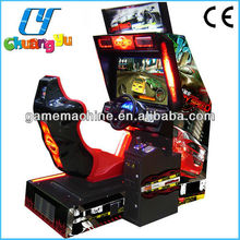 32 LCD Crazy speed arcade video simulator car racing game machine