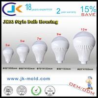 New! best price pc plastic demo display led bulb case, 90% light transmittance led bulb cover