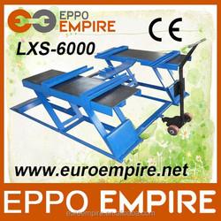 2015 Ho selling LXS-6000 used car scissor lift,single post car lift,lift used car for sale