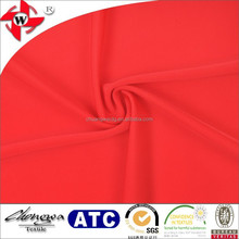 84% nylon 16% spandex underwear fabric/semi-gloss lycra fabric for swimwear/4 way stretch knitted fabric
