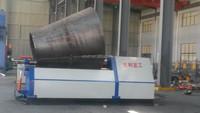 Nantong Shengli Four roller hydraulic sheet metal cone rolling