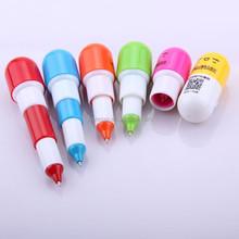 cute cheap pill advertising mini ballpen