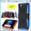 Wholesale prices Factory directing Dual Layer rugged heavy duty hybrid Case Tough hard defender Armor Cover case for Blackberry