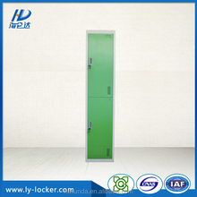 steel office locker school metal locker 2 door staff metal wardrobe