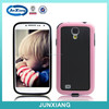 pc + tpu hybrid hard case for samsung galaxy s4