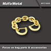 MaYa Metal 2015 fashion golden metal bag chain for handbags MYC16006