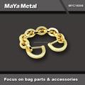 Maya Metal 2015 moda de ouro de Metal cadeia de bolsa para bolsas MYC16006