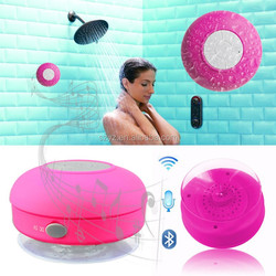 New style waterproof bluetooth speaker, Bluetooth V3.0 for all mobile phone & computer