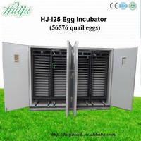 Latest Microprocessor Automatic Digital large Scale Automatic QUAIL Egg Incubator saleHJ-I25