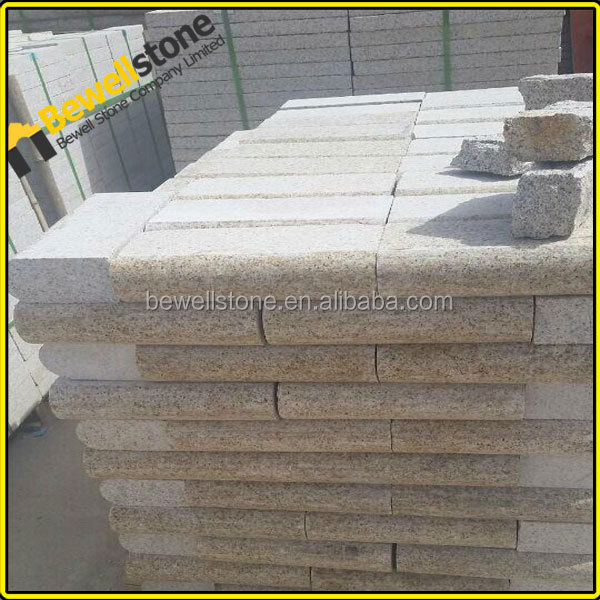 Granite Stone Foundation : Prefab custom made granite foundation stone block for