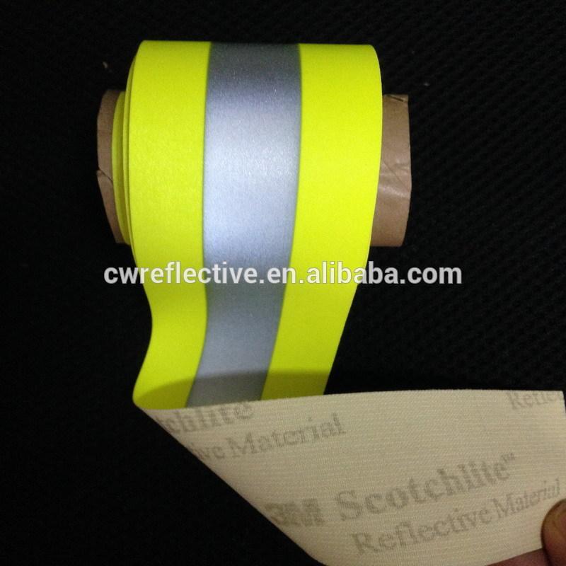 Ruban réfléchissant la lumière/3m haute visibilité ruban/bande de mode