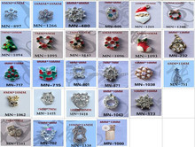 3D nail art accessories Metal alloy nail decoration
