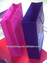 New products 2014 plastic shopping bag with handle alibaba china
