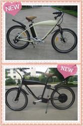New model 250w/350w/500W/1000W48V big power beach cruiser electric Mountain bicycle/electric chopper bike with en15194