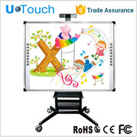 85 inch 2 touch points class smart board/cheap educational interactive whiteboard