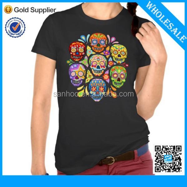 Skull Shirt Womens