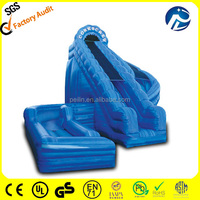 hot selling cheap inflatable water slides for sale